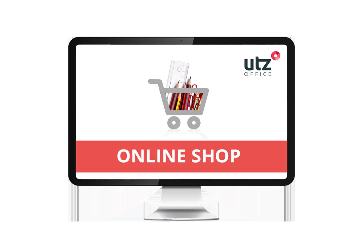Online Shop Screen Vorschau